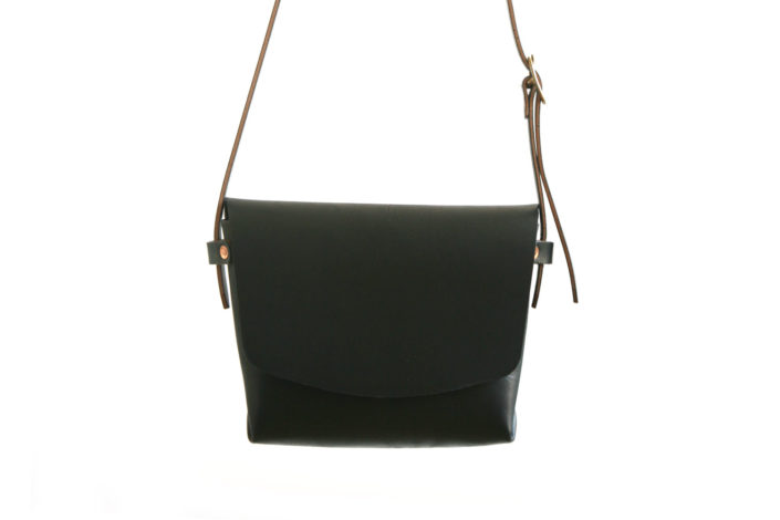 Hand Bag No. 2 Black Chrome