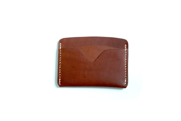 Card Wallet No. 2 – Medium Brown