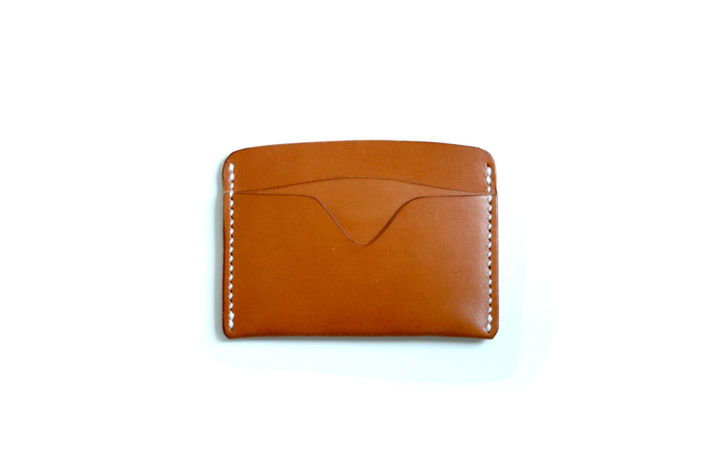 Card Wallet No. 2 – Tan