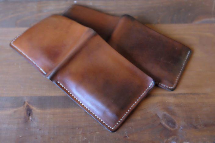 Handmade-Tan-Bridle-Leather-Wallets